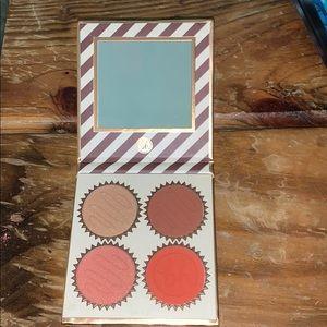 💄Vanilla orange truffle blush palette